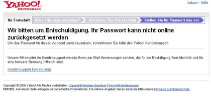 Yahoo-Passwort-rueckstellen