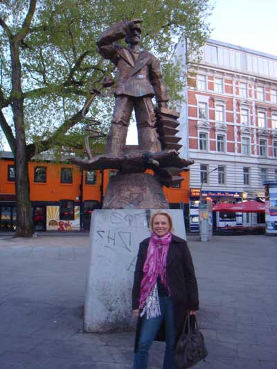 Hans Albers in Hamburg