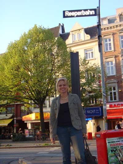 SEOwoman in Hamburg auf der Reeperbahn