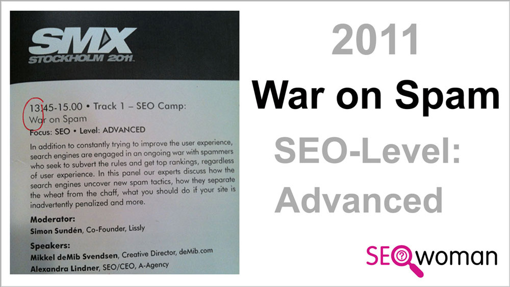 SMX War on Spam