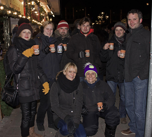 Die ganze Gruppe BetrunkenGutesTun Nürnberg 2012