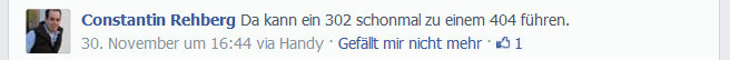 SEO-Witz: Platz 8 Found vs Not Found