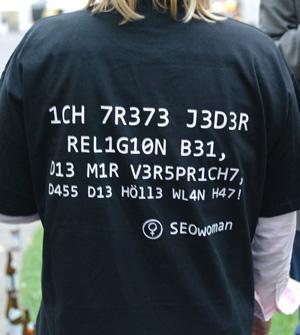 SEOwoman Nerd Shirt