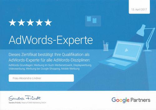 Alex Lindner - die Google-Spezialistin aus Bayern
