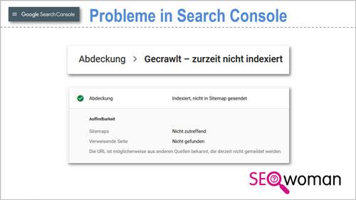 Google Search Console Probleme