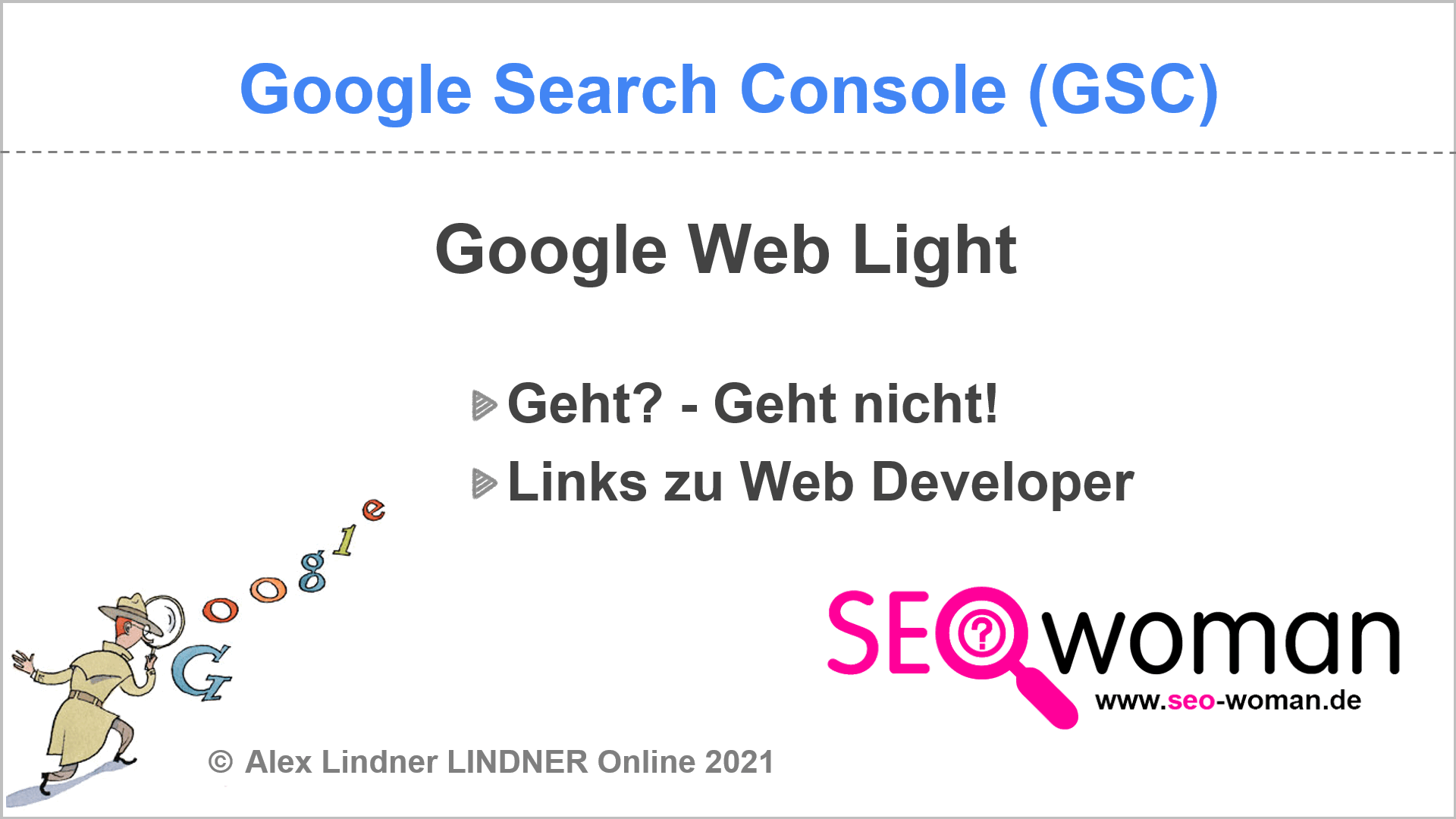 Google Search Console Weblight