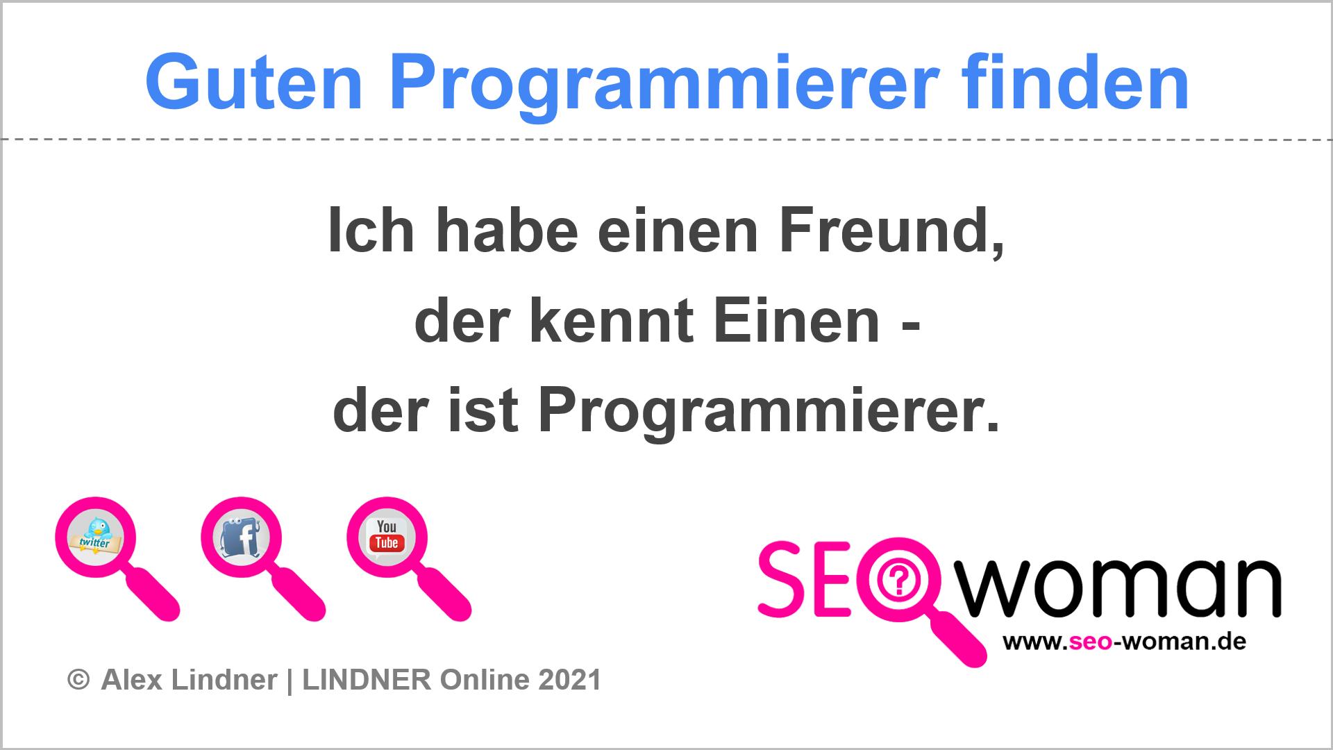 Guten Programmierer finden