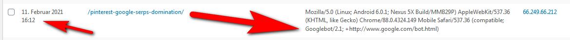 YouTube: Googlebot holt sich URL aus Video-Text