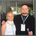 Alexandra Lindner und Bob Rains aus den USA