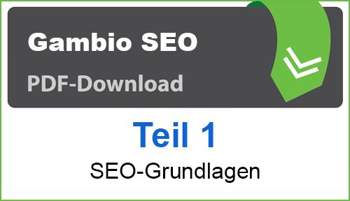 PDF Gambio SEO-Grundlagen Teil 1