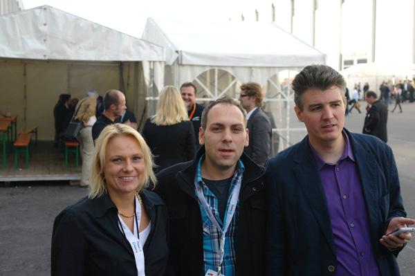 Ich, Mark und Jens (Franzi war leider krank)