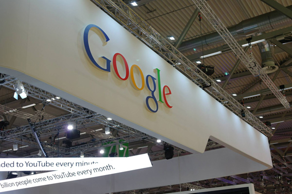 Google Messe-Stand