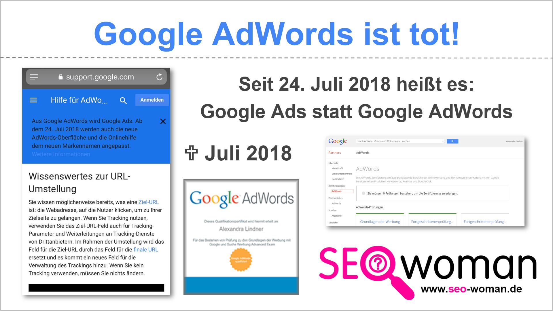 Google AdWords ist tot