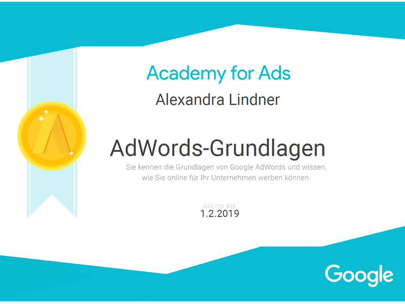 Google AdWords Grundlagen