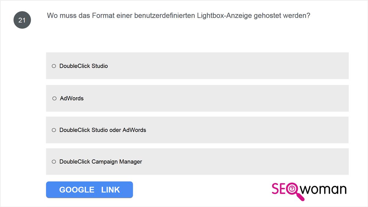 Wo muss das Format einer benutzerdefinierten Lightbox-Anzeige gehostet werden?