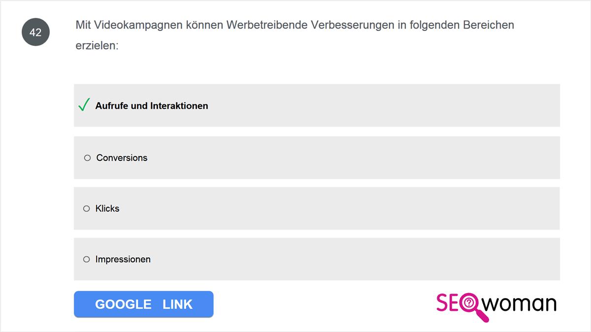 Google Partner Prüfungsfragen ▷ Prüfungsfrage + Antworten 👀