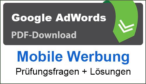 PDF Google AdWords Mobile Werbung
