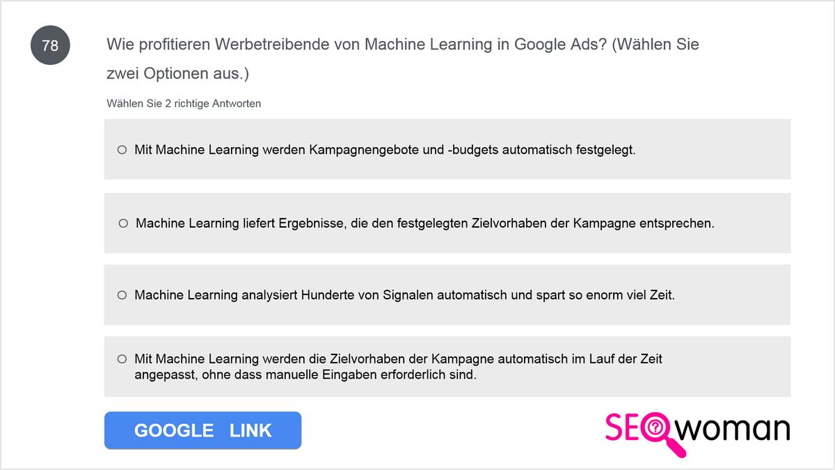 Wie profitieren Werbetreibende von Machine Learning in Google Ads?