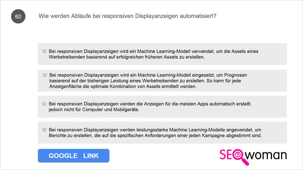 Inwiefern werden Abläufe bei responsiven Displayanzeigen automatisiert?