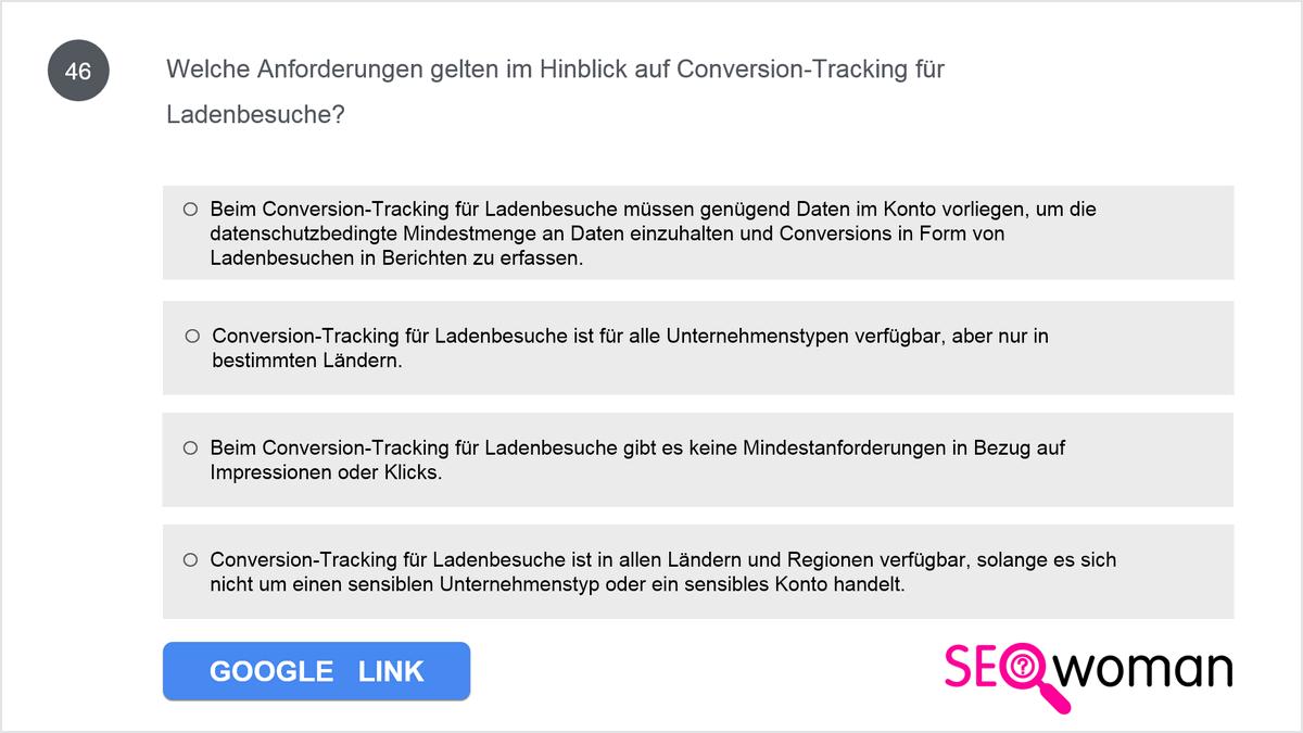 Wolfgang möchte in seinem Google Ads-Konto Offline-Tracking einrichten. Die gewünschte Conversion-Vorlage hat er schon heruntergeladen. Nun fügt er die passenden Offlinedaten hinzu und bearbeitet sie. Als er die Vorlage hochladen will, schlägt der Import fehl. Weshalb ist der Import nicht möglich?