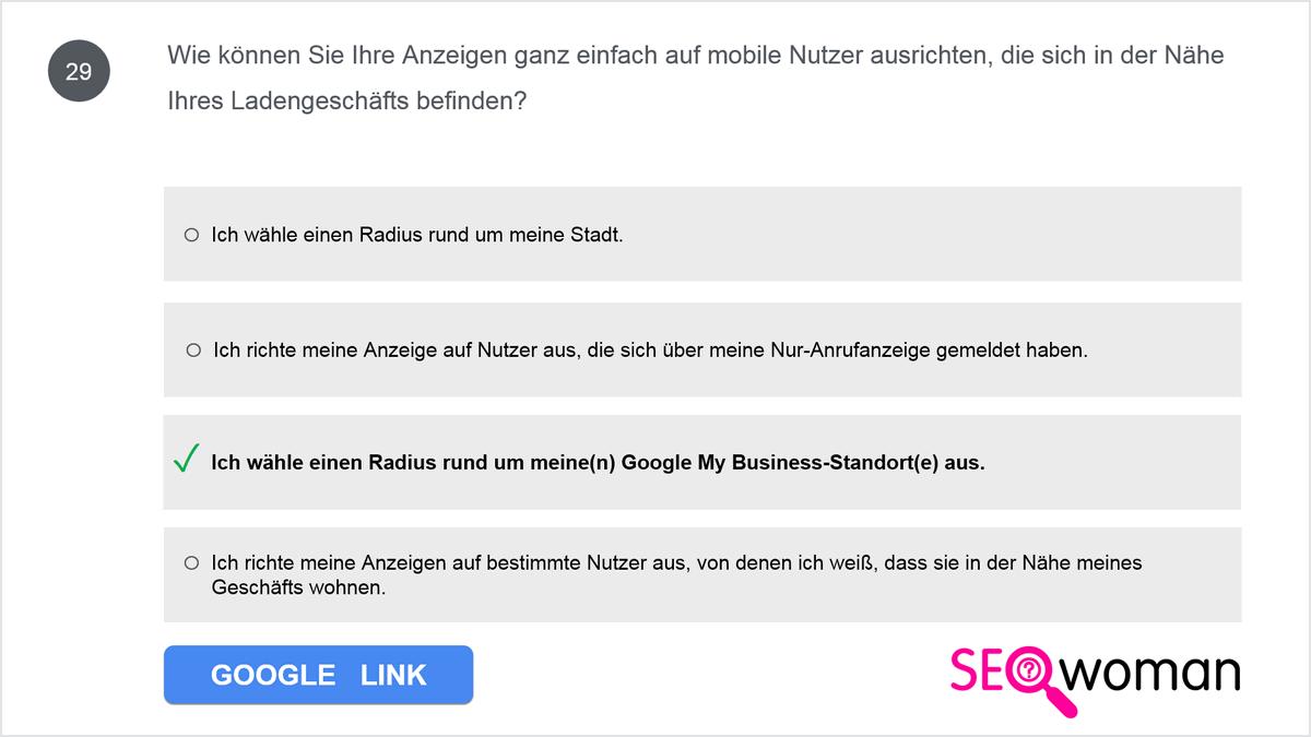 Wie können Sie Ihre Anzeigen ganz einfach auf mobile Nutzer ausrichten, die sich in der Nähe Ihres Ladengeschäfts befinden?