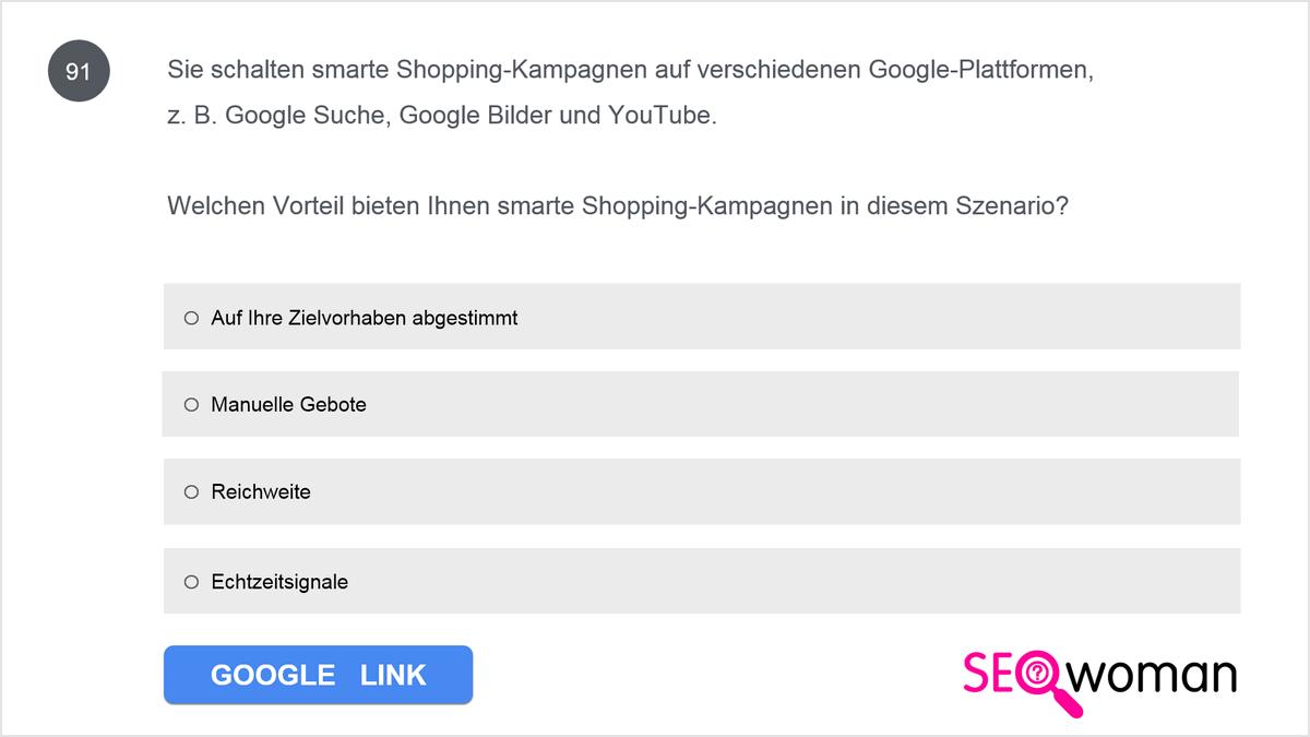 Anna verkauft handgefertigte Seifen. Sie ist gerade mit ihrem Geschäft online gegangen und überlegt nun, bei Google eine Anzeige mit lokalem Inventar zu schalten. Wie könnte eine Anzeige mit lokalem Inventar Anne dabei helfen, ihr Unternehmen auszubauen?