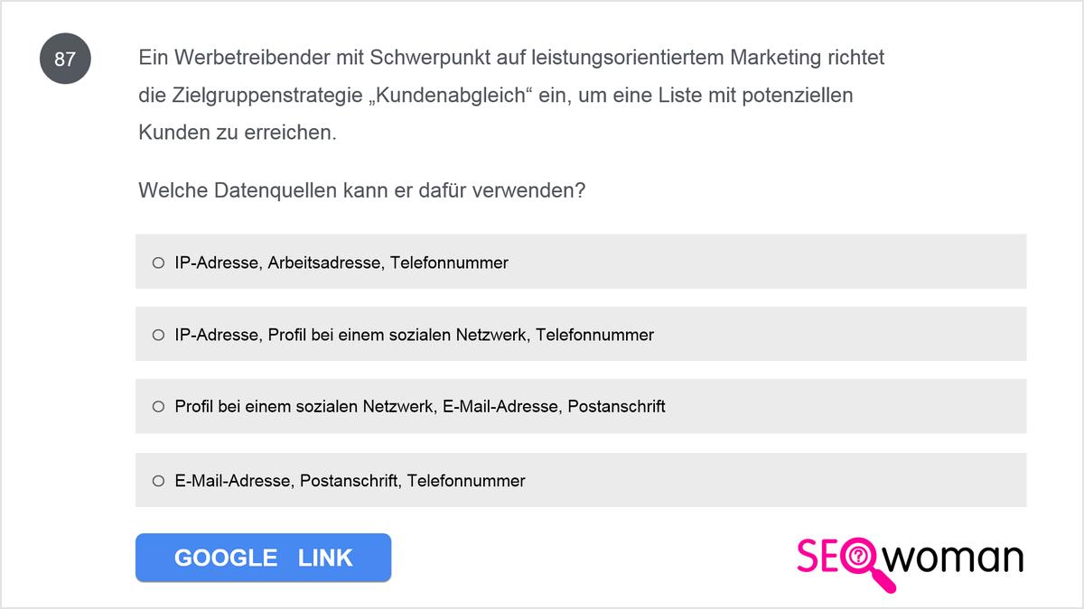 Eine Anzeigengruppe enthält das Keyword 'unterwasserkamera' als passende Wortgruppe. Wie muss eine Suchanfrage lauten, damit eine Anzeige dieser Anzeigengruppe geschaltet wird?