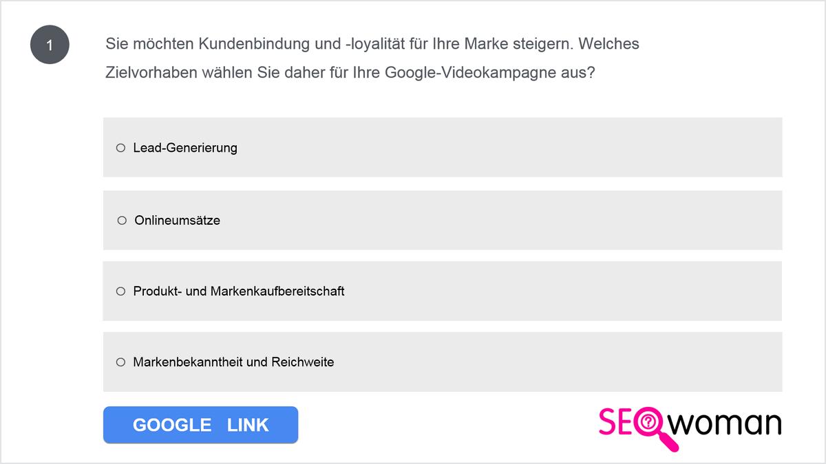 Wie können Sie laut Google unter Anwendung der ABCD-Prinzipien Videos erstellen, die mit einem starken Einstieg das Interesse der Zuschauer wecken?