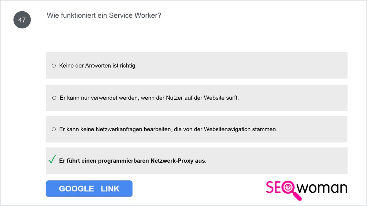 Wie funktioniert ein Service Worker?