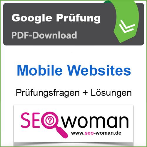 PDF Google Mobile Websites