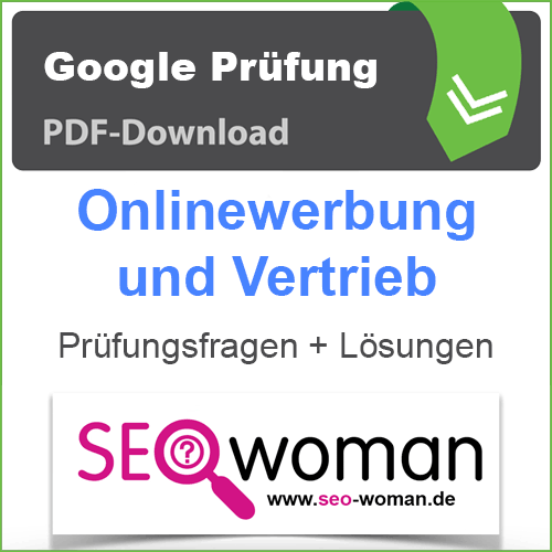 PDF Google Onlinewerbung und Vertrieb