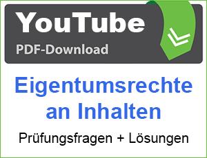 PDF YouTube Eigentumsrechte an Inhalten