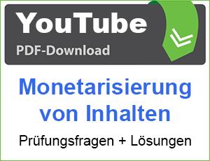PDF YouTube Monetarisierung von Inhalten