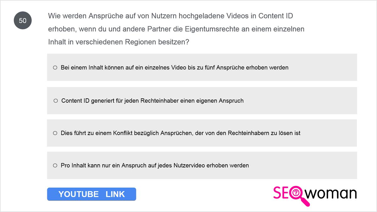 Wie werden Ansprüche auf von Nutzern hochgeladene Videos in Content ID erhoben, wenn du und andere Partner die Eigentumsrechte an einem einzelnen Inhalt in verschiedenen Regionen besitzen?