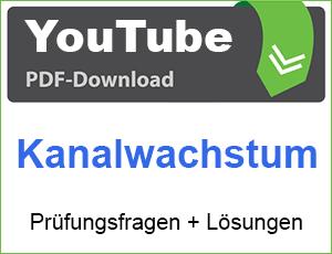 PDF YouTube Kanalwachstum