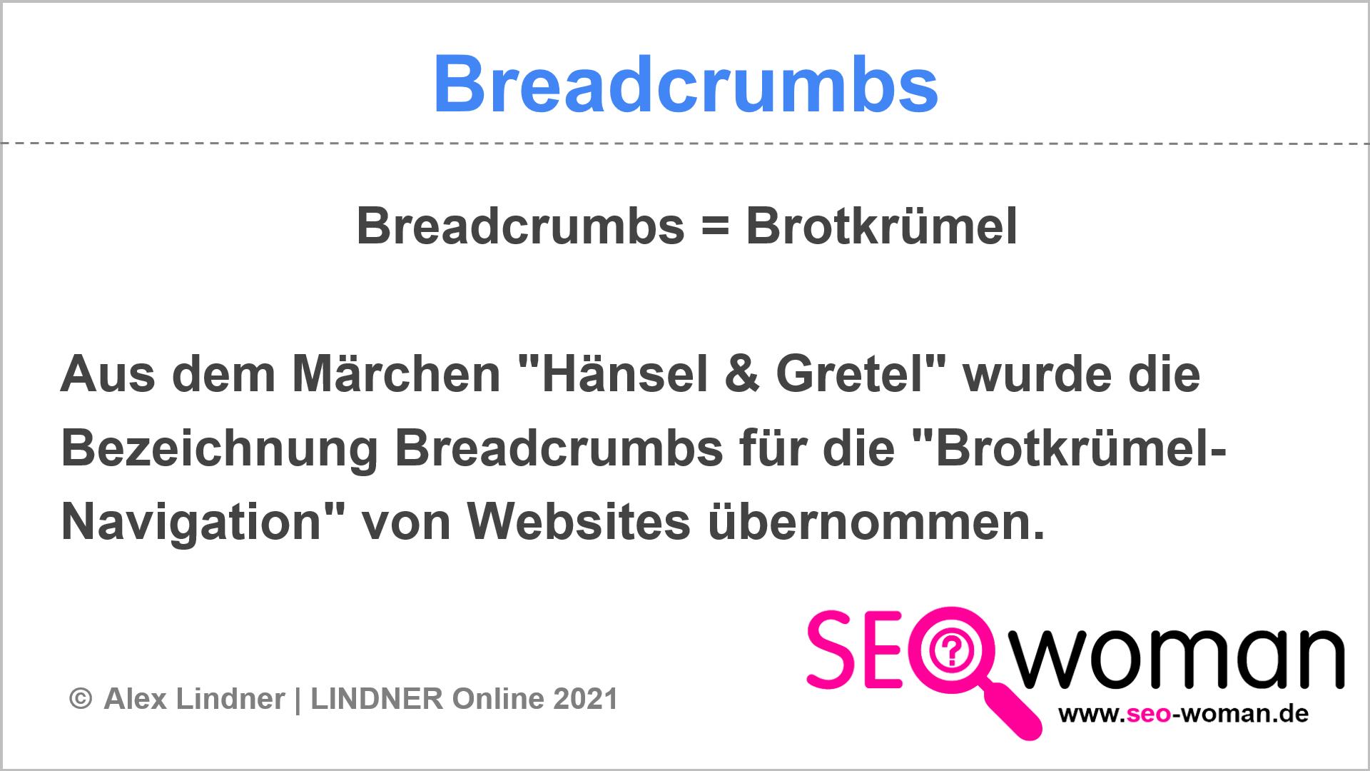 Breadcrumbs | SEO-Lexikon