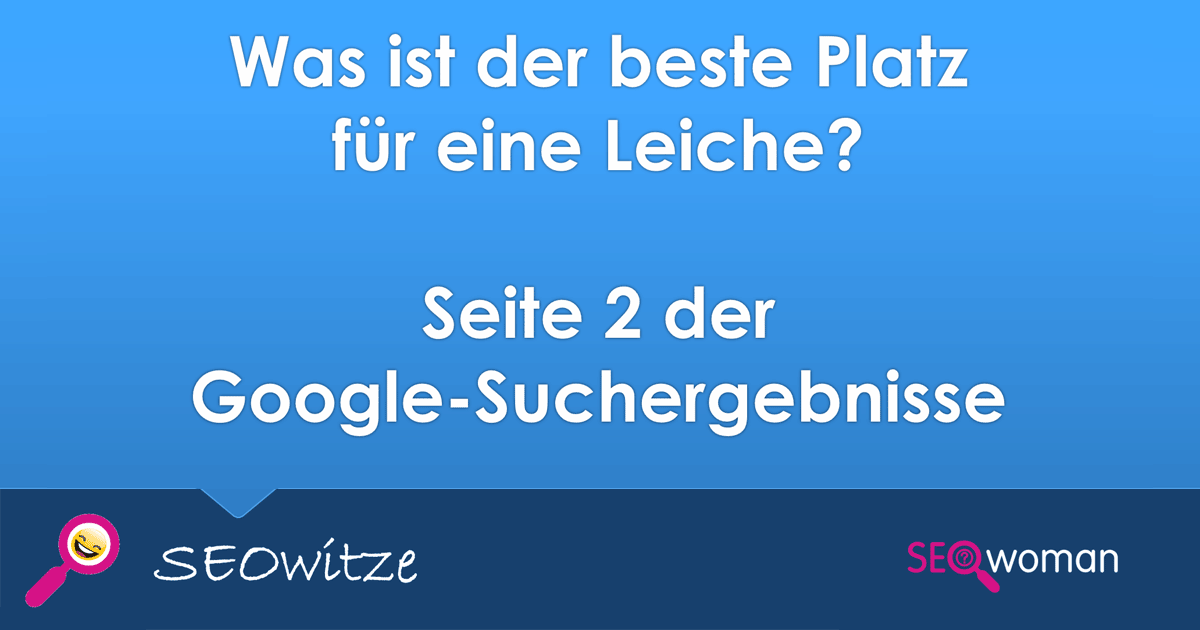 SEO-Witz Google