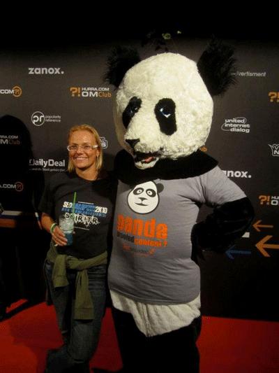 SEOwoman und der Panda